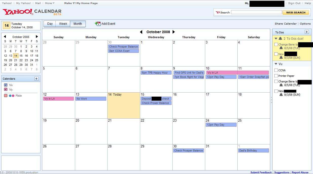 Weekly Economic Calendar Yahoo : Yahoo calendar yangah solen